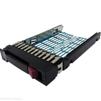 "HP PROILANT DL ML G5 G6 G7 SFF 2.5"" SAS/SATA HDD HOT SWAP TRAY HDD CADDY KERET HP 371593-001"